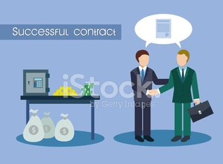 Successful contract and many money