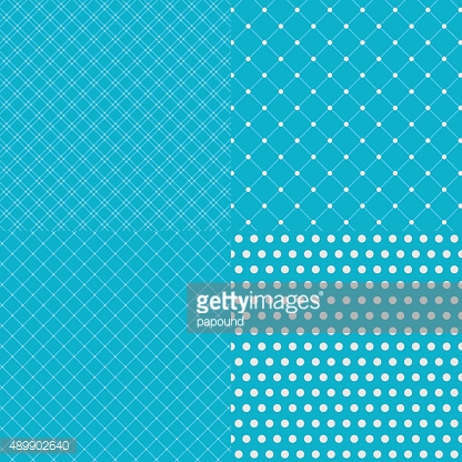 Geometric tiles with dotted seamless patterns background