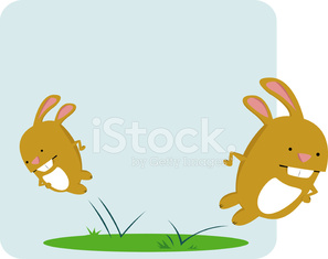 Bouncing Rabbits