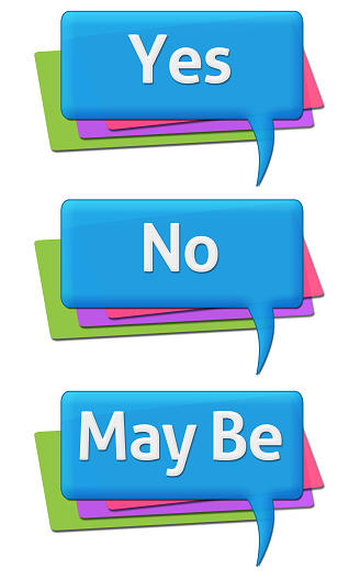 Yes Know May Be Colorful Comments Symbols