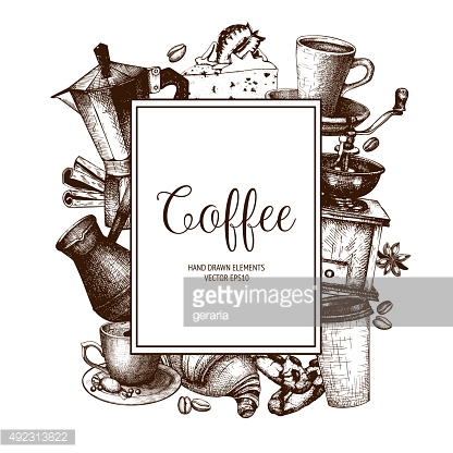 Coffee shop or cafe template
