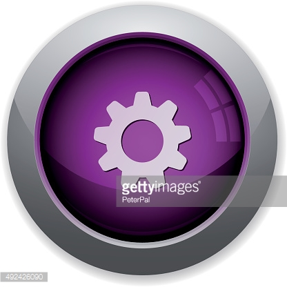 Purple gear button
