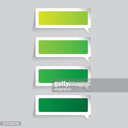 Empty label vector speech bubble