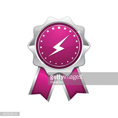 Energy Pink Vector Icon Design