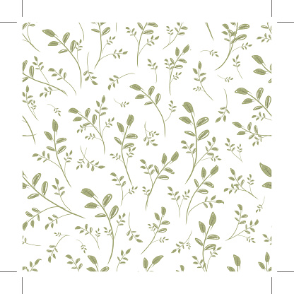 Leaf seamless pattern for your design