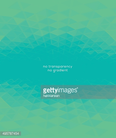 Abstract turquoise green lights background with perspective effect