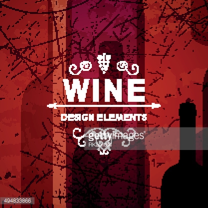Vector Abstract Wine Background