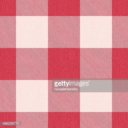 Red textured gingham inspired pattern background 2