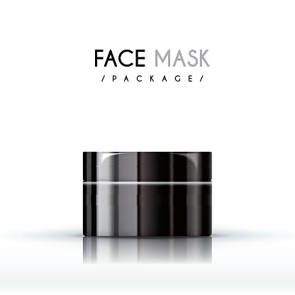 cream face mask package