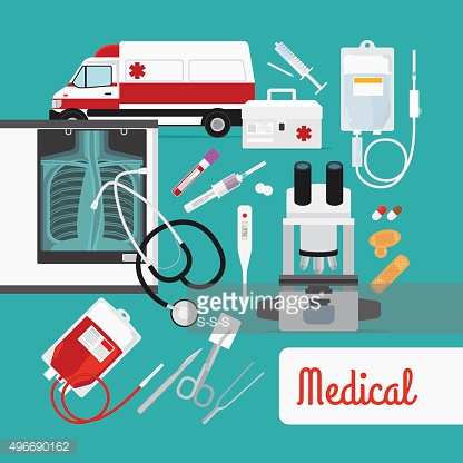 Medical research concept