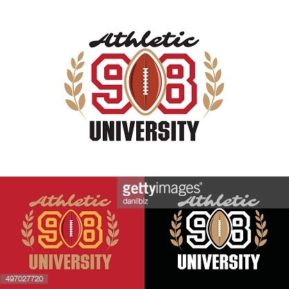 Athletic sport label typography, t-shirt graphics, poster, vector art