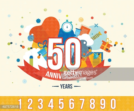 Anniversary happy holiday celebration emblems set with ribbons isolated vector