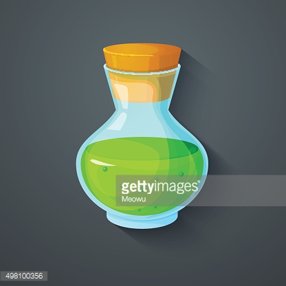 The elixir of Life icon, vector illustration