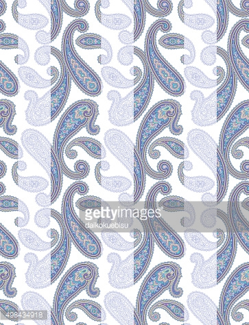 Paisley illustration patte