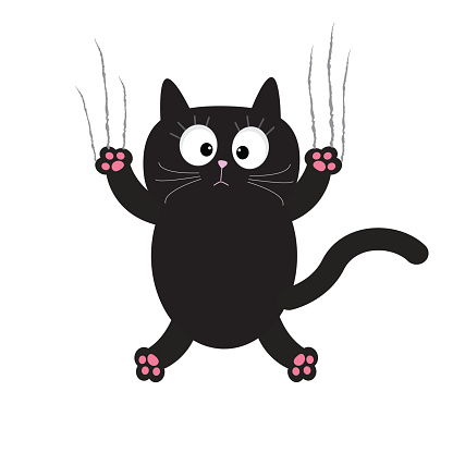 Images Of Cartoon Black Cats