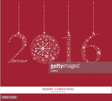 Happy New Year 2016 - vector Background.