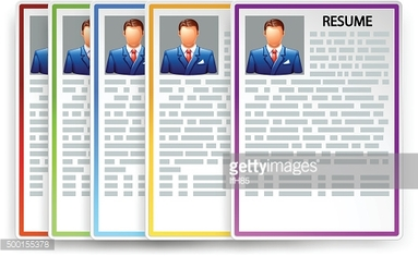 picture of resumes