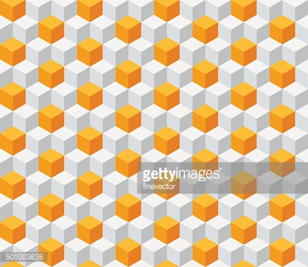 Geometric seamless background with cubes.