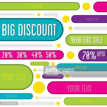 big offer discount banner design