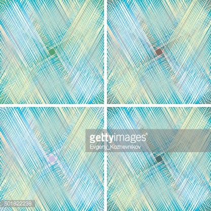 set of fabric texture. weave colorful threads in pastel colors