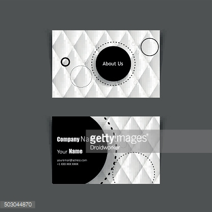 Leather Business card vector background