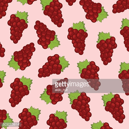 Red Grape Background