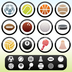 Simple Sports Icons