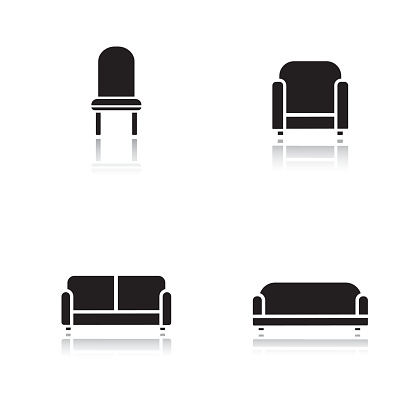 Soft furniture icons