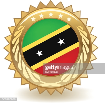 Saint Kitts And Nevis Badge