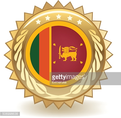Sri Lanka Badge
