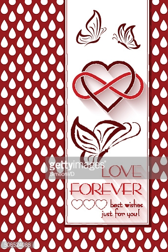 Intertwined Hearts. Love Forever