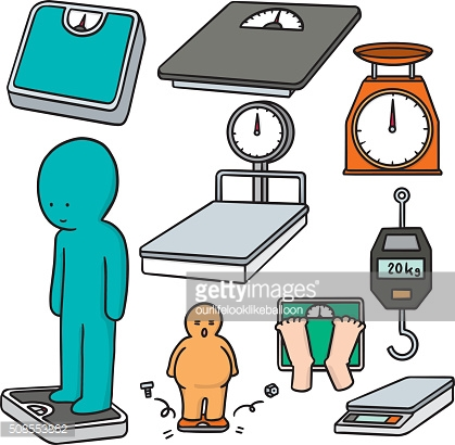 vector set of weighing machine