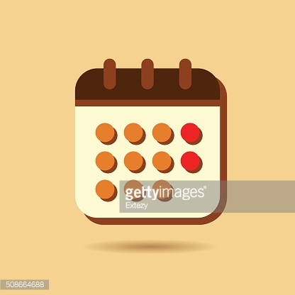 Calendar Icon vector illustration