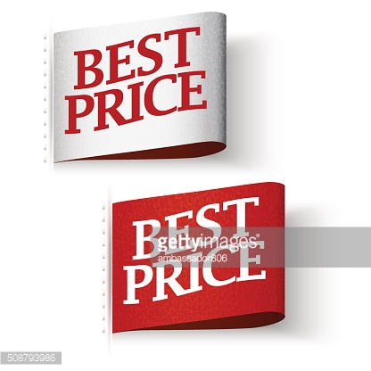 Price-tag Labels, Best Price Message Set