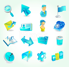 Glacial Series   Web and Office Icons
