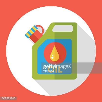 gasoline flat icon