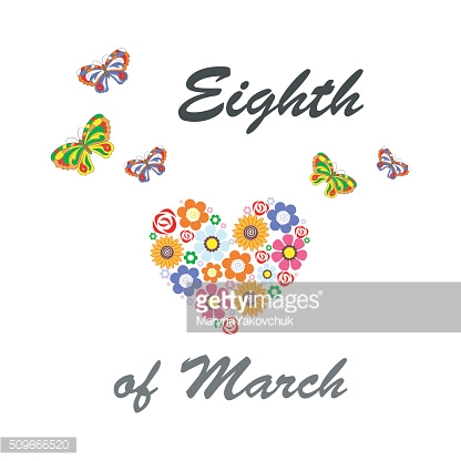 eighth of march card
