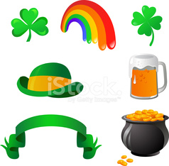 collection of St. Patrick's day icons