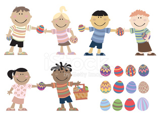 Kids give Eggs