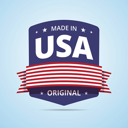 Made in USA badge.