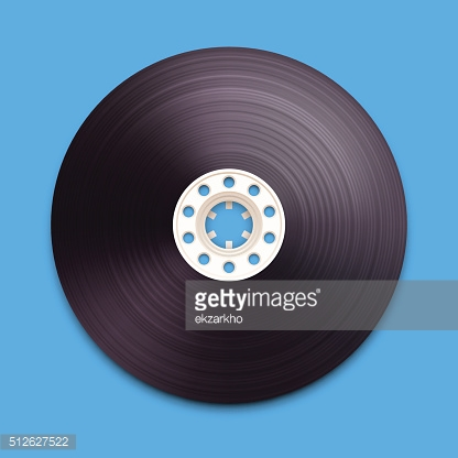 illustration of a recordable babin of tape cassette.