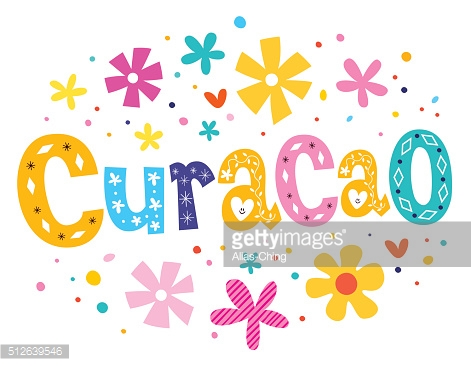 Curacao vector lettering decorative type