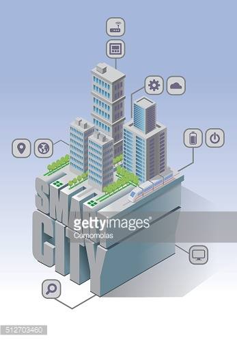 Smart city connected
