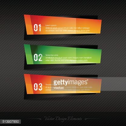 Business stickers on the gray background for infographics webdes