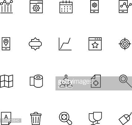 Productivity and Development Vector Icons 6