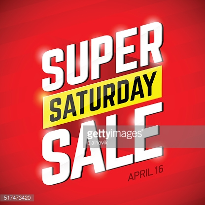 Super Saturday Sale banner
