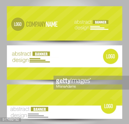 Banner template. Abstract background for design.