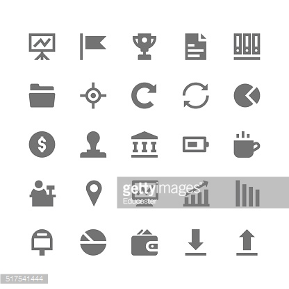Business and Office Vector Icons 3