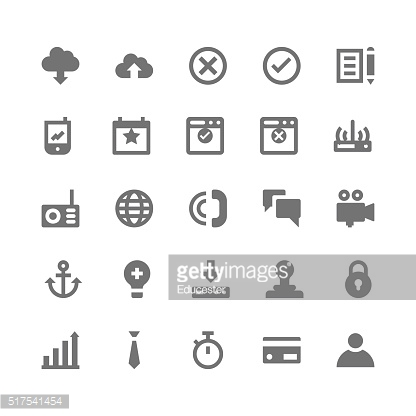 Business and Office Vector Icons 4