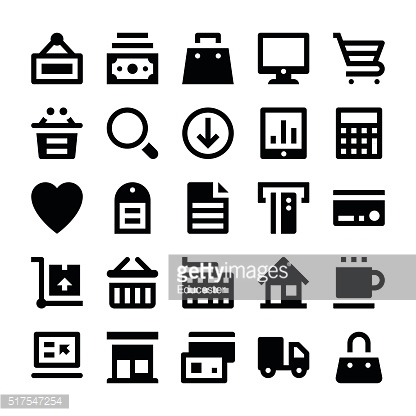 Shopping and Retail Vector Icons 1